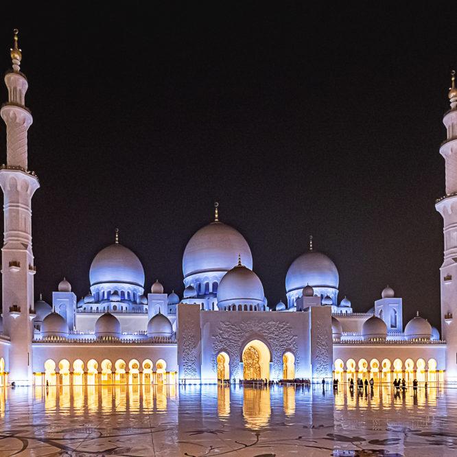 AbuDhabi, Sheikh Zayed Moschee