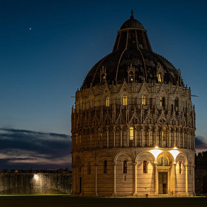 Pisa, Baptisterium San Giovanni Battista (Taufkapelle beim Dom)