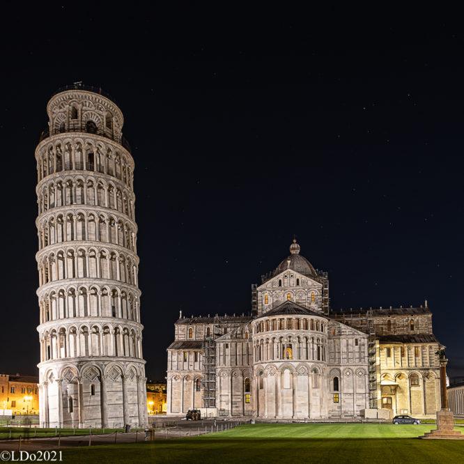 Pisa, Dom Santa Maria Assunta mit dem Campanile (Schiefer Turm)