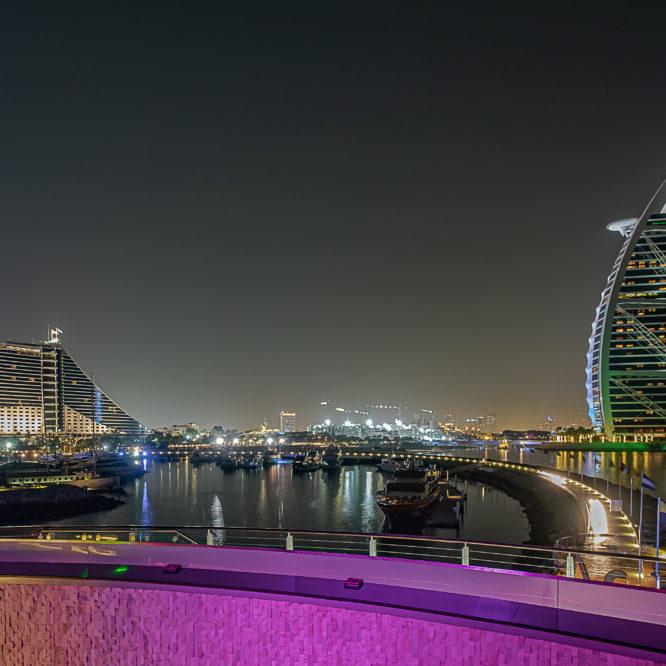 Dubai, Blick auf Burj Al Arab
