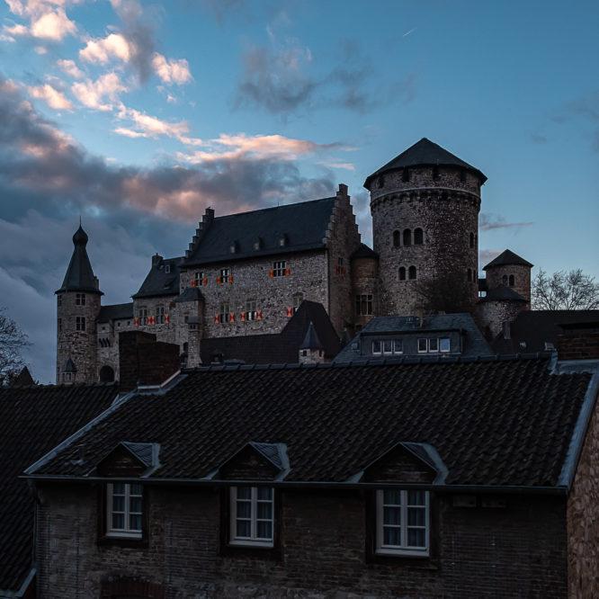 Stolberg, Blick auf die Burg