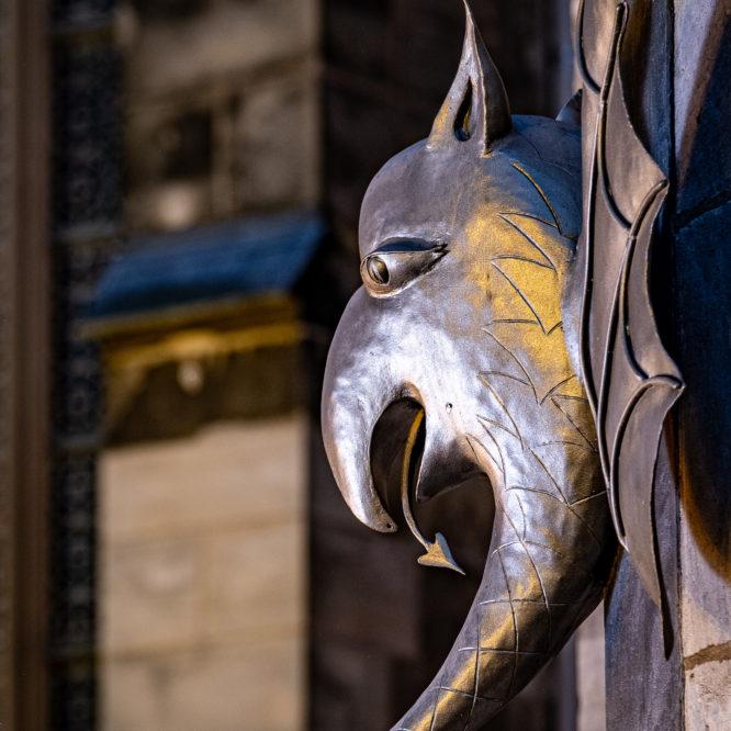 Aachen, Dom,  Detailansicht