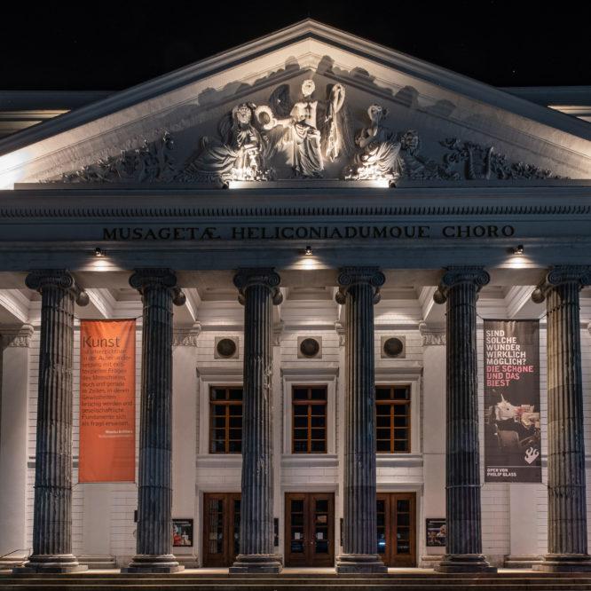 Aachen, Stadttheater Frontansicht