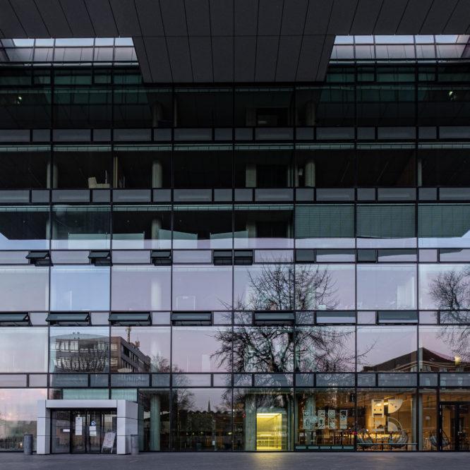 Aachen, RWTH, Fassade des Super C